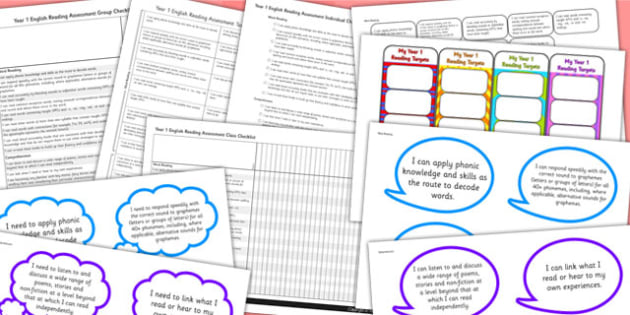 2014 Curriculum Year 1 English Reading Assessment Resource Pack
