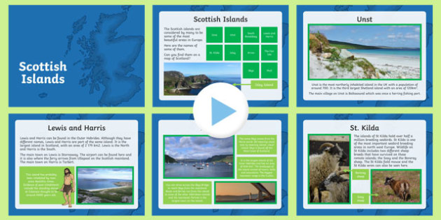 Scottish Islands PowerPoint
