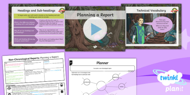 PlanIt Y5 Animals: Jabberwocky Lesson Pack Non-Chronological Reports (3)