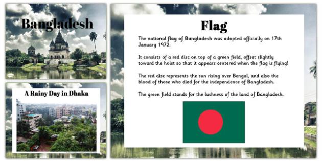 Bangladesh Information PowerPoint - bangladesh, information