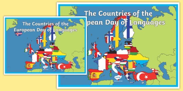 European Day of Languages (UK) A2 Display Poster