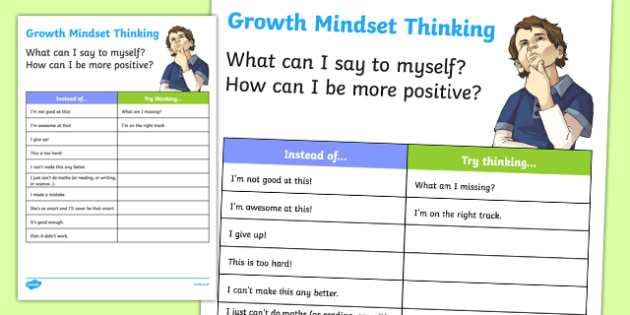 New Zealand Growth Mindset Activity Sheet, worksheet