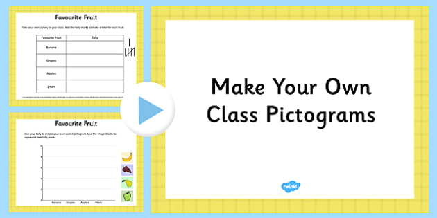 Make Your Own Pictograms Editable Presentation - make, pictograms, editable, presentation, powerpoint