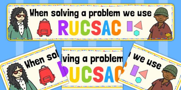 RUCSAC Display Banner - rucsac, display, banner, display banner