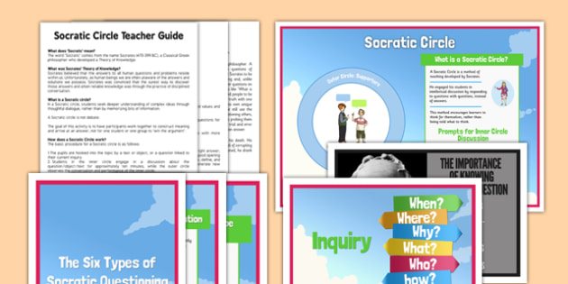 Socratic Questioning Teaching and Resource Pack - socratic questioning, questioning, discussion, philosophy