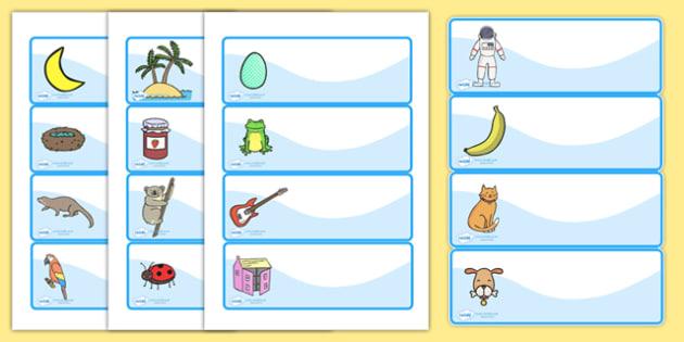 Editable Drawer - Peg - Name Labels (Set 1) - Blue - Classroom Label Templates, Resource Labels, Name Labels, Editable Labels, Drawer Labels, Coat Peg Labels, Peg Label, KS1 Labels, Foundation Labels, Foundation Stage Labels, Teaching Labels, Resourc