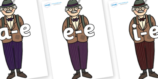 Modifying E Letters on Beautys Dad - Modifying E, letters, modify, Phase 5, Phase five, alternative spellings for phonemes, DfES letters and Sounds