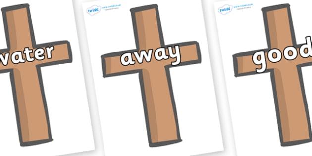 Next 200 Common Words on Crosses - Next 200 Common Words on  - DfES Letters and Sounds, Letters and Sounds, Letters and sounds words, Common words, 200 common words