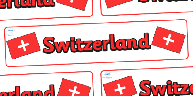 Switzerland Display Banner - Switzerland, Olympics, Olympic Games, sports, Olympic, London, 2012, display, banner, sign, poster, activity, Olympic torch, flag, countries, medal, Olympic Rings, mascots, flame, compete, events, tennis, athlete, swimmin