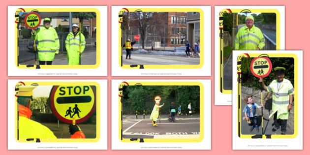 Lollipop Person Display Photos - Lollipop, Lollipop Lady, Lollipop Man, crossing, safer, road, car, lorry, school, children