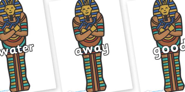 Next 200 Common Words on Sarcophagus - Next 200 Common Words on  - DfES Letters and Sounds, Letters and Sounds, Letters and sounds words, Common words, 200 common words