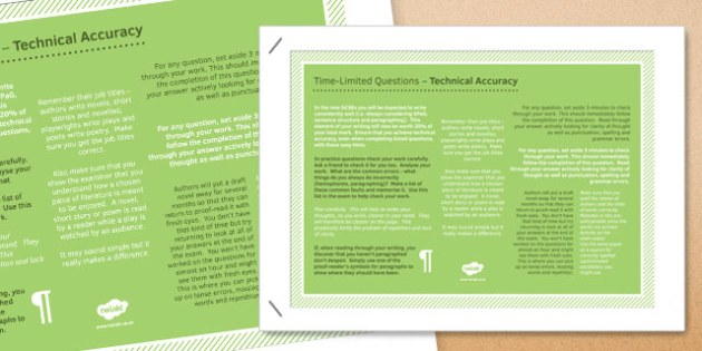 Time Limited Questions Technical Accuracy Poster - time, limited, questions, technical, accuracy, poster, display