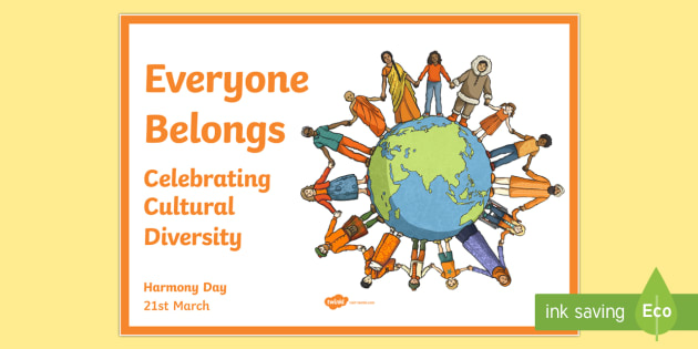 Australia - Harmony Day Poster - Harmony Day, poster, display, cultural, diversity