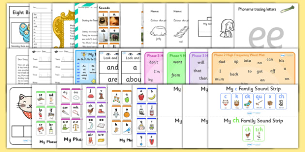 Parents Phonics Pack - parents, phonics, pack, sounds, phase