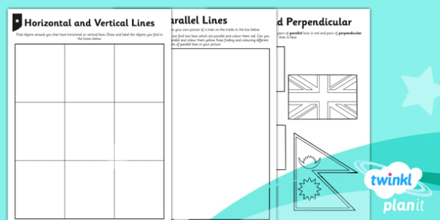 PlanIt Y3 Properties of Shapes Types of Lines Home Learning - planit, properties of shape, home learning tasks