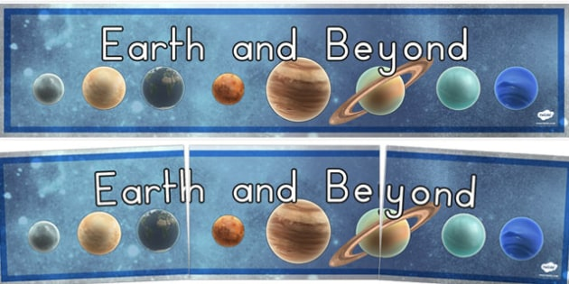 Earth and Beyond Display Banner - australia, display, banner