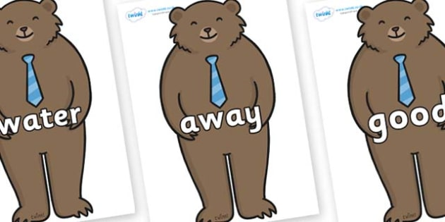 Next 200 Common Words on Daddy Bear - Next 200 Common Words on  - DfES Letters and Sounds, Letters and Sounds, Letters and sounds words, Common words, 200 common words