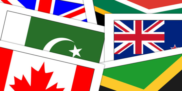 52 Commonwealth Flag Posters - commonweatlh games, display