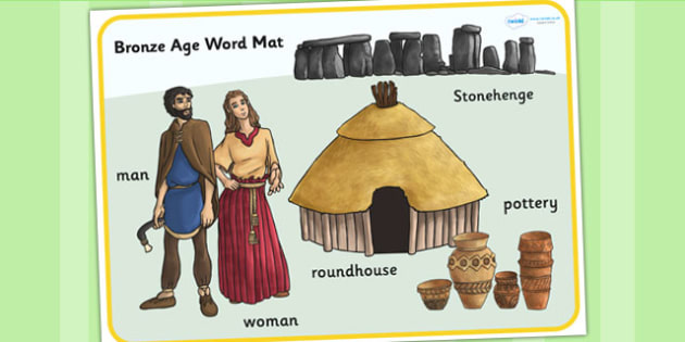 Bronze Age Word Mat - bronze age, word mat, keywords, history
