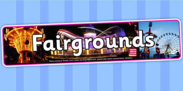 Fairgrounds Photo Display Banner - fairgrounds, IPC display banner, IPC, fairgrounds display banner, IPC display, fairgrounds IPC banner