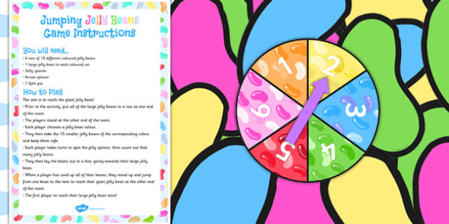 Bean Life Cycle Jumping Jelly Beans Game - bean, life cycle