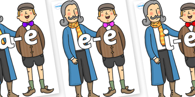 Modifying E Letters on The Emperors New Clothes Strangers - Modifying E, letters, modify, Phase 5, Phase five, alternative spellings for phonemes, DfES letters and Sounds