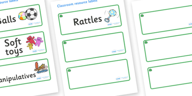 Jade Themed Editable Additional Resource Labels - Themed Label template, Resource Label, Name Labels, Editable Labels, Drawer Labels, KS1 Labels, Foundation Labels, Foundation Stage Labels, Teaching Labels, Resource Labels, Tray Labels, Printable lab