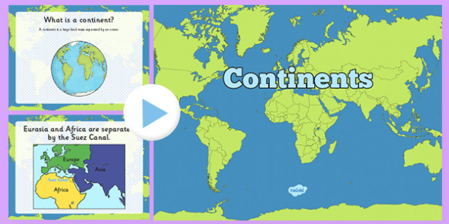 What Is a Continent? PowerPoint - usa, america, Continent, Country, US Resources, Geography