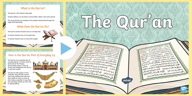 The Quran Powerpoint and Worksheet Pack - the quran, the quran, the koran, the quran powerpoint, the quran task setter, the quran worksheet, islam