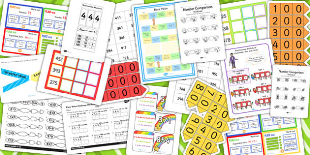 Year 3 Place Value Resource Pack - place value, pack, resource