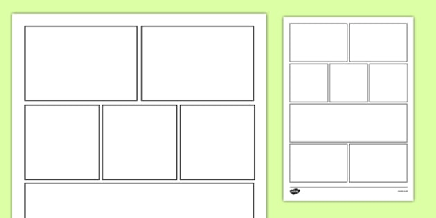 8 Box Storyboard Template - 8 Box, Storyboard, Template, Story