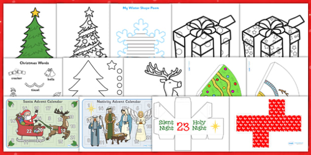 Childminder Christmas Activity Pack - childminder, christmas