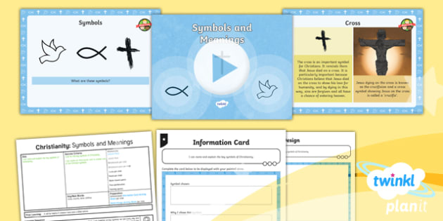 RE: Christianity: Symbols and Meanings Year 4 Lesson Pack 6