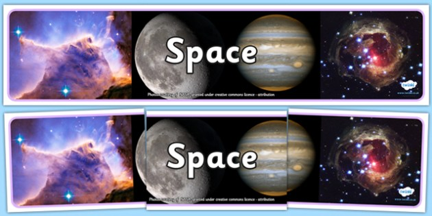 Space Photo Display Banner - space, photo display banner, photo banner, display banner, banner,  banner for display, display photo, display, images, pictures