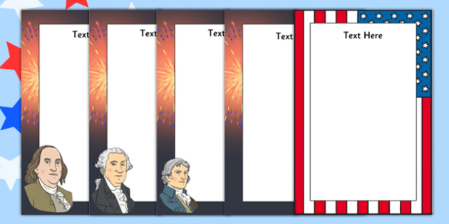 Independence Day Editable Posters - independence day, editable