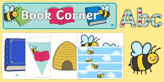 Bumblebee Book Corner Display Pack