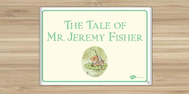 Beatrix Potter - The Tale of Mr Jeremy Fisher eBook - beatrix potter, mr jeremy fisher