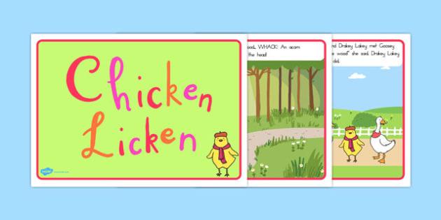 Chicken Licken Story - australia, chicken, licken, story, tale