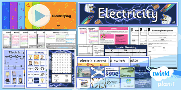 Science: Electricity Year 6 Unit Pack