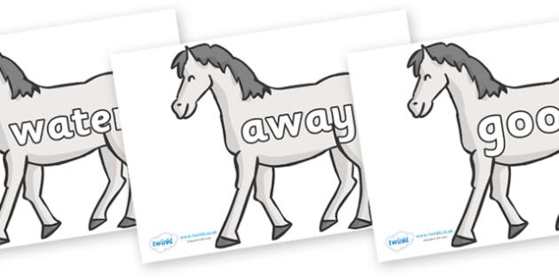 Next 200 Common Words on Horses - Next 200 Common Words on  - DfES Letters and Sounds, Letters and Sounds, Letters and sounds words, Common words, 200 common words