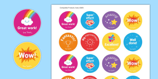 Classroom Reward Stickers - classroom, reward, stickers, reward stickers, class