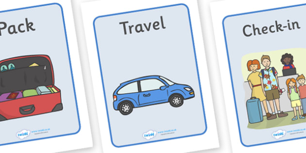 Going on a Plane Journey Display Posters - Holidays, holiday, travel, display poster, poster, sign, banner, plane journey, agent, booking, plane, flight, hotel