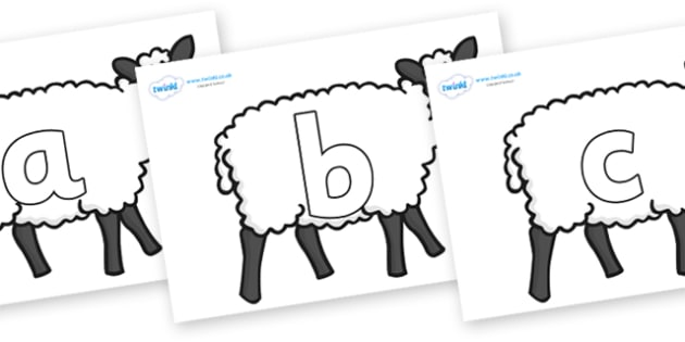 Phoneme Set on Sheep - Phoneme set, phonemes, phoneme, Letters and Sounds, DfES, display, Phase 1, Phase 2, Phase 3, Phase 5, Foundation, Literacy