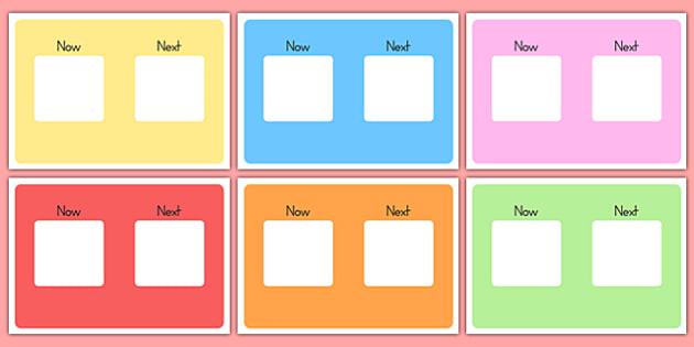 Now, Next Visual Aid - australia, now, next, visual aid, visual, aid