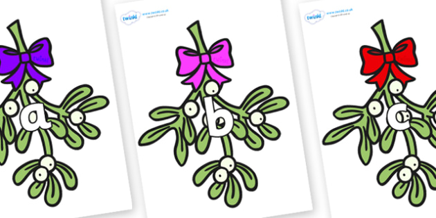 Phase 2 Phonemes on Mistletoe (Bells) - Phonemes, phoneme, Phase 2, Phase two, Foundation, Literacy, Letters and Sounds, DfES, display