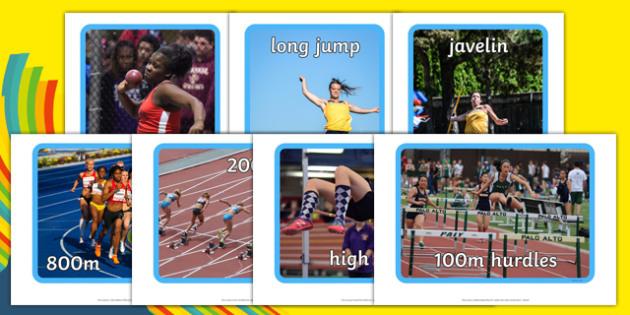 Olympic Heptathlon Display Photos - olympics, heptathlon, display photos, olympic heptathlon