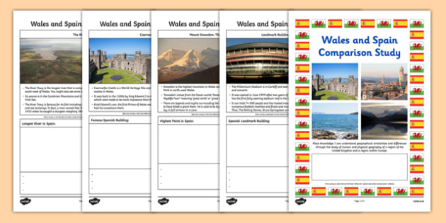 Wales and Spain Comparison Study Research Booklet