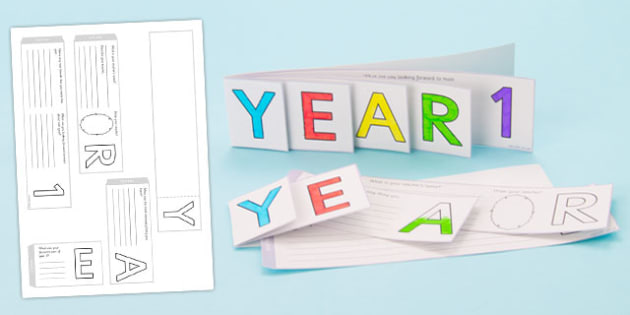 Year 1 Write Up Booklet - End of Year 1 Activities