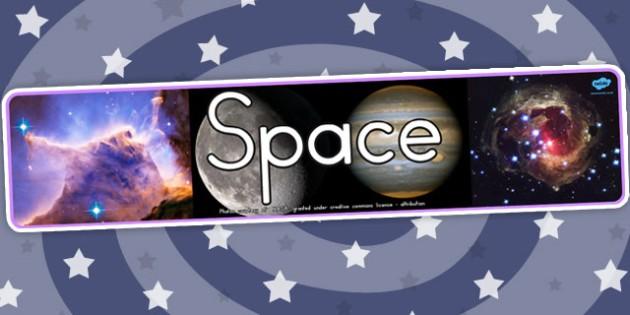 Space Photo Display Banner - australia, space, photo, display