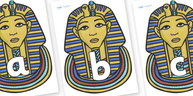 Phoneme Set on Mummy Masks - Phoneme set, phonemes, phoneme, Letters and Sounds, DfES, display, Phase 1, Phase 2, Phase 3, Phase 5, Foundation, Literacy